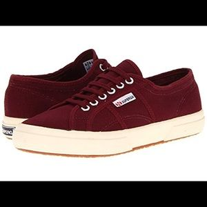 Superga Maroon Sneakers